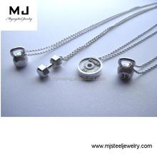 Fashion Women's Black Genuine Braided Leather Bracelet Stainless Steel Jewelry Manufacturer(MJB-0133)