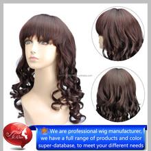 wholesale heat resistant fiber Synthetic Mustache Wig, Sex Lady Cosplay Wig, Synthetic Half Wig
