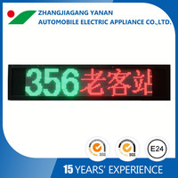 customized scrolling / moving led display screen for bus,taxi and coach
