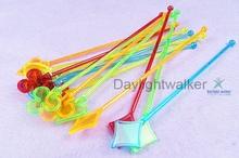 Promotion Custom Design disposable custom plastic swizzle sticks