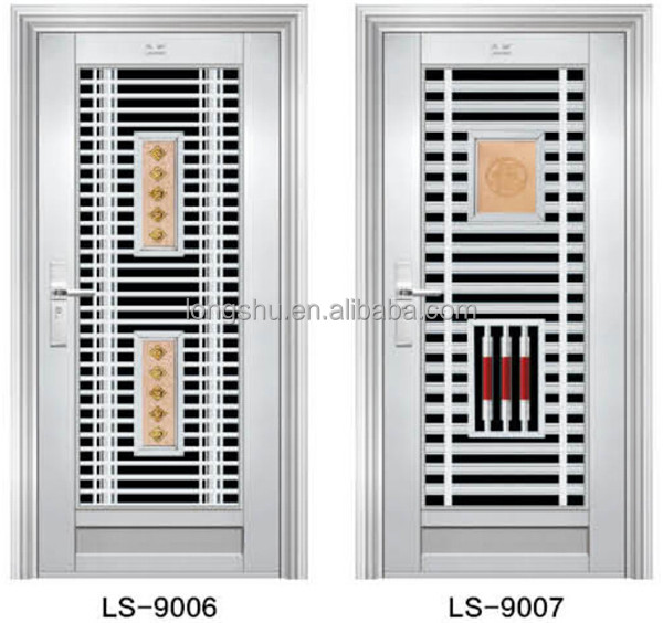 Ghana design stainless steel door buy steel main door for Door design steel