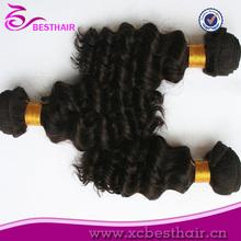 Químico aaaaa grado de la buena calidad barato brasileño de la virgen del pelo extensiones de cabello de los niños