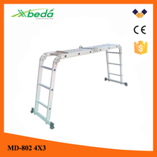motorcycle ladder folding construction ladder (MD-802 4x3)