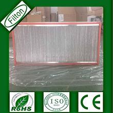 Paper/Aluminum separator industrial hepa heat resistant aluminum filters