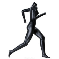 2015 high quality fiberglass full body sexy female sports running posing mannequins wholesale mannequins