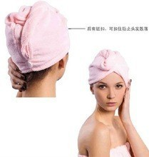 China Supplier Microfiber Hair Drying Towel / China 2015 New Products Microfiber Hair Turban with Cheap Price