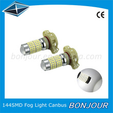 Bonjour canbus led Epistar 3014 smd 144 pcs fog lamp led auto light