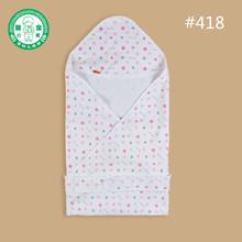 Baby clothing accessories Cotton dot printing blanket kids cotton soogan