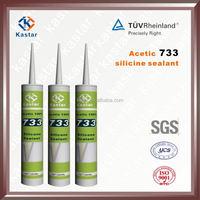 Acetoxy,water-proof silicone sealant,100% RTV Silicone