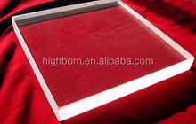 JGS 1 material clear quartz plate