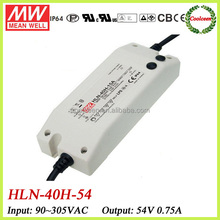Meanwell led driver dimmable HLN-40H-54