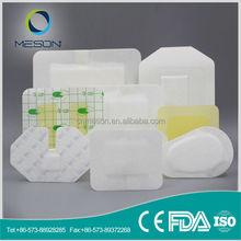 Free Sample soft sterile adhesive burn dressing