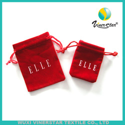 Wholesale Stock Fast Delivery Holiday Use Popular Sell Gift Bag Microfiber Material Gift Pouch