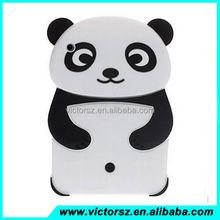 3D Panda Design Soft Silicone Back Cover Case For iPad 2 /3 /4 /air /ipad Mini