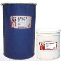 general purpose silicone sealant with structural bonding and two components