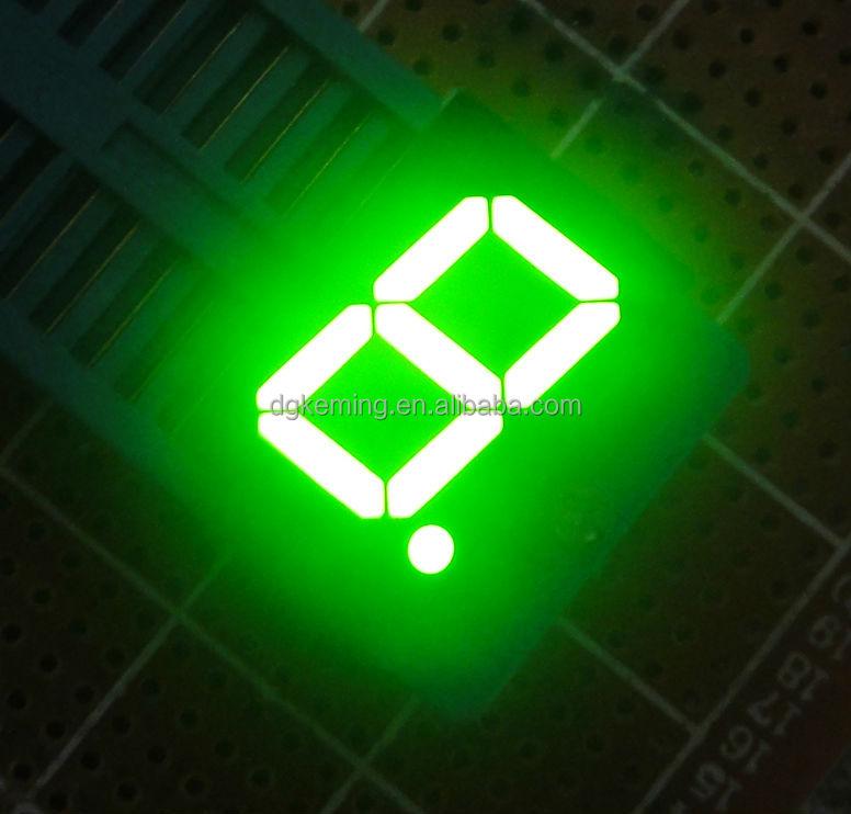 7 segment led display single digit 5611 ultra green el light numbers