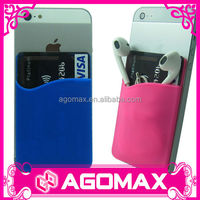 Non-toxic silkscreen printing cute 3M sticky silicone mobile phone holder