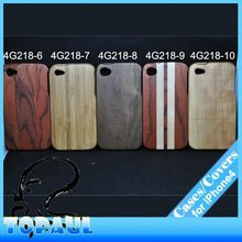 Luxury Wood shell Bamboo skin for iphone 4/4s