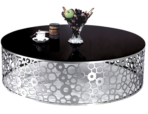 Round banquet glass teapoy table price 081 a buy glass for Teapoy table designs