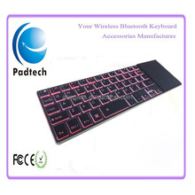 2.4Ghz Wireless Bluetooth Mini Keyboard with Built-in Mouse