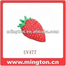 Strawberry shape silicone usb flash memory
