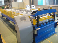Automatic Steel Corrugated Roof Sheet Roll Forming Making Machine