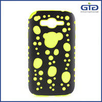 Bubble style 2 in 1 PC TPU Case For Samsung I9300 for Galaxy S3