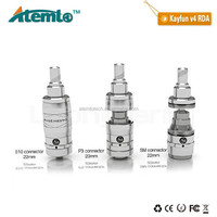 Stainless Steel/Black/Copper/Brass Rebuildable Atomizer kayfun v4 bell cap with great price atomizer kayfun v4 in stock