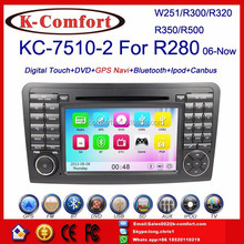 K-Comfort Free shipping car dvd player for Benz R class W251 2006-,Good quality Navigation for Mercedes Benz W251