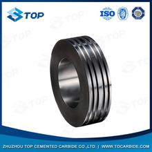 Best selling pr6.0 125x82x15mm tungsten carbide rolls for forming smooth steel wires with low price