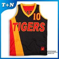 custom made sublimation print basketball jersey logo design