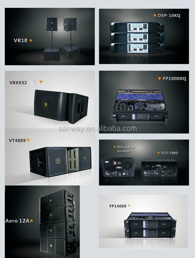 DA2008 1U 8 Canal 300 W Classe D Amplificateur de Puissance pour Système de Cinéma Maison