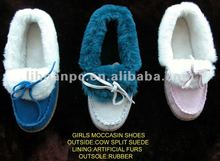 2012 girls moccasin shoes