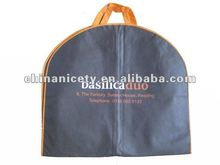 Non woven coat cover garment bag with handle