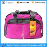 new design folding travel golf bag with water bottle holder