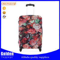 new product luggage trolley bag unique designer PP suitcase luggage retail travel luggage bags