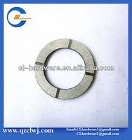 hardened steel industrial machining external washer
