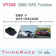 Can Bus vehicle tracking VT100 Built-In U-Blox high sensitive GPS chip OBD/OBD2 of Thinkrace