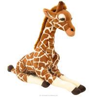 vivid giant cute new design 16 inch Plush Giraffe - Brown stuffed animal toys