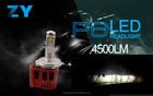 Super brilhante farol Philip lâmpadas de carro P6 Led 45W H4 H7 H8 H11 H16 9006 9005 9007 9004 automóvel carro conduzido fora fa