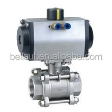 pneumatic ball valve,pneumatic actuated ball valve,air operated ball valves