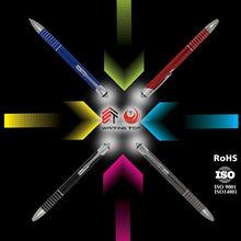 Souvenir gift metal LED light ballpoint pen