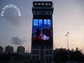Panel de vídeo en color P20 junto con transparencia ruta