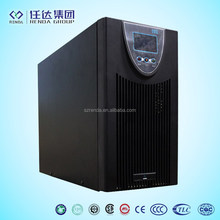 CE certified LCD display 3kva battery backup Online UPS double conversion single phase ups