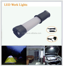 portable rechargeable cob led working light with flash light