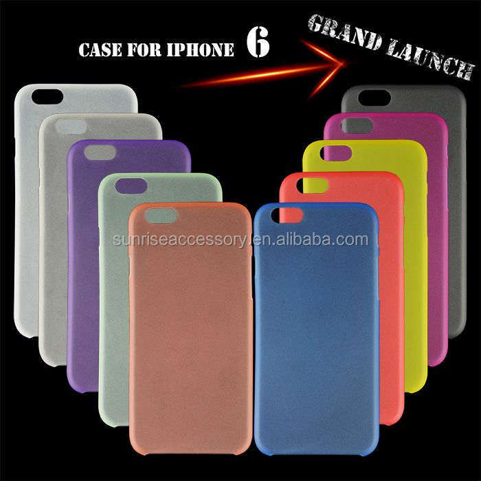 Sales Promotion Double Color Hard Armor Mobile Phone Case For iPhone 6