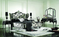 new classic furniture bedroom / luxury home furniture bedroom suite KJ-B1001