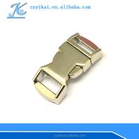 wholesale quick lock buckle metal clip bag lock side release buckle