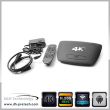 Elegant high quality android bluetooth skype RK3288 quad core android 4.4 wifi smart tv box