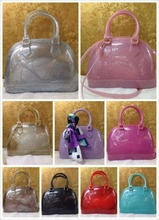 hot selling beautiful girls jelly handbags latest design candy girl handbag,little girl jelly handbag with mix color